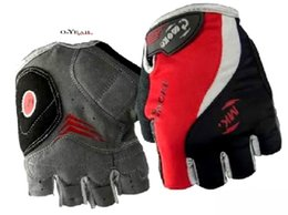 Wholesale-2015hot sale GEL Bike Bicycle Gloves half Finger Motocross Riding Dirt Bike BMX Cycling Biking Gloves