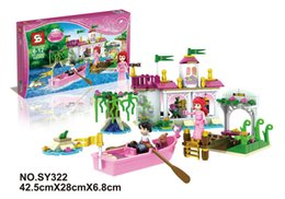 Wholesale 2015 Girl Friends Princess Ariel s Magical Kiss Bricks Toys Set Minifigures Building Blocks Compatible With Best Christmas Gift SY322