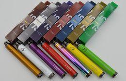 Wholesale Cigarette Spinner - Vision Spinner 2 1650mAh battery 3.3V-4.8V Variable Voltage E-Cigarette for ego CE4 mini protank 3 GS-H2 clearomizer