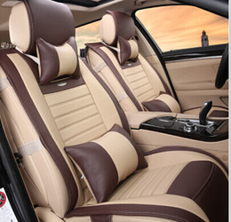Wholesale Good quality Special car seat covers for Lexus ES300h breathable comfortable leather seat covers for ES300h