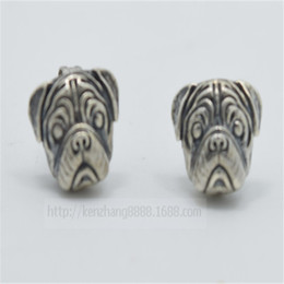 2015 Special Offer Promotion Stud earrings Bijoux 1pcs Products Free Shipping Wholesale Oxide Pug Earrings,pug Jewelry For Woman