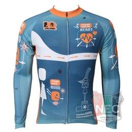 Men's Fleece Thermal Jersey heartbeats LongSleeve Cycling Jersey Cycling clothing Wind break maillot Winter softshell ciclo Bike outfit