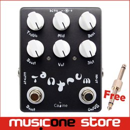 Wholesale Caline CP15 Heavy Metal Guitar Effect Pedal with Bands Powerfully Adjustable Free connector MU0141