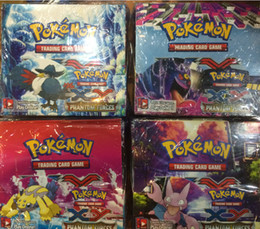 Wholesale Hot Selling Pokemon XY Phantom Forces Cards Box Bags Box New Poke Cards Pokemon Trading Card Game Children Cartoon Cards Toys Gifts