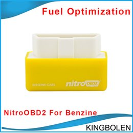 Wholesale Newly Plug and Drive NitroOBD2 Performance Chip Tuning Box for Benzine Cars NitroOBD2 Chip Tuning Box for Gasoline cars