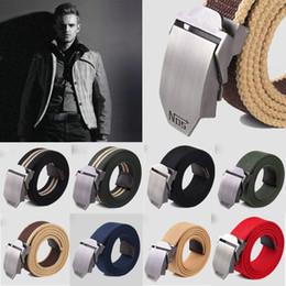 Wholesale Fashion Hot Canvas Outdoor Belt Military Equipment Cinturon Western Strap Men s Luxury Mens For Men Tactical Brand Cintos Handbag