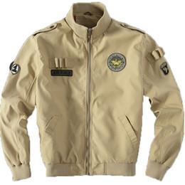 Fall-NEW 2016 Flight Pilot Jacket Bomber Ma1 Jackets For Men Jackets Nasa Jackets Embroidery Baseball  Coats 105