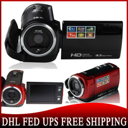 Wholesale 50 shipping HD P MP Digital Video Camcorder Camera DV DVR TFT LCD x ZOOM