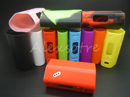 Wholesale RX200 RX200S Silicone Case Colorful Rubber Sleeve Protective Cover Skin Enclosure For Wismec Reuleaux RX200W W SW WS TC Box Mods
