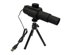 Wholesale 1 X Zoom MP Long Distance USB Digital Telescope camera For spot monitor House Surveillance Video videotaping languages