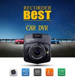 Wholesale car DVR mini auto car dvr camera dvrs full hd p parking recorder video registrator camcorder night vision black box dash dhl free