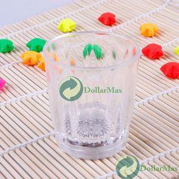 Wholesale Clear Favors New Arrival Souvenirs Decoration Mini Led Flashing Plastic Beverage Wine Drink Cup Bar Decorative Club Mug