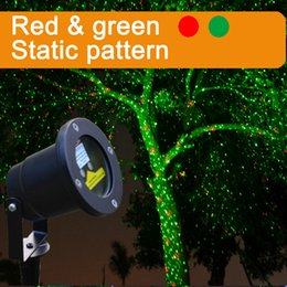 Wholesale Red green Firefly outdoor laser light projector static IP65 waterproof Christmas lights popular decoration bliss lights