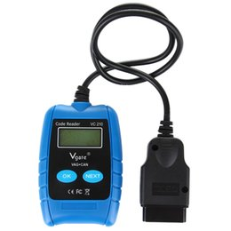 Wholesale VGATE VC210 OBD II Diagnostic Scanner Tester Meter Tool for Volkswagen and Audi Vehicles Cars Automobiles