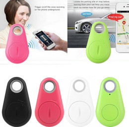Wholesale Smart bluetooth iTag Anti lost burglar Alarm children GPS Tracker Remote control shutter self portrait gifts for parents children iphone s