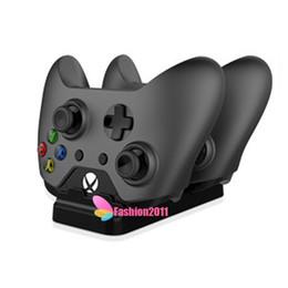 Xbox dual en Línea-La manera Xbox One carga el kit que carga dual con las baterías recargables del cargador 2 de los reguladores de RetailDock que carga el cable dhl libre 010208