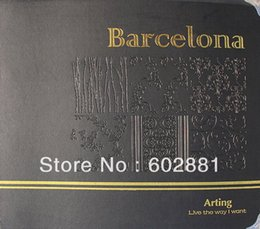 Wholesale ONLY Barcelona series Luxury Europe style PVC Wallpaper Rolls Wallcovering home decoration min order order