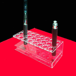 Transparent Acrylic Atomizers Display Stand e-liquid Holder ego Ecig Pen Display Stand