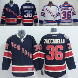 Wholesale New York Rangers Mats Zuccarello American Premier Hockey Jerseys Ice Winter Home Away Jersey Stitched Men