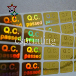 Wholesale high quality warranty hologram label hologram stickers Custom hologram sticker