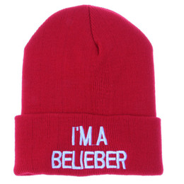 Wholesale 2015 i am believer Beanies hats Cuff Knitted hat basketball pom Beanie caps American football Beanies Mixed order contact us for more style