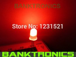 Wholesale mm Red Ultra Bright Diffused LED Lamp Diodes kit