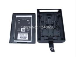 Envío libre para el caso de la caja de la caja de la impulsión de disco duro de la caja del recinto de Xbox360 HDD para Xbox 360 delgado (250G 320G) con la caja al por menor desde xbox duro fabricantes