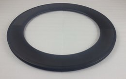 88mm carbon clincher bicycle rim UD matte surface with basalt track 24 holes 23mm width
