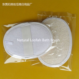 Wholesale Exfoliating Natural Loofah Luffa Loofa Bath Spa Sponge Bath Brushes loofah pad Skin Care Tool for Men and Women