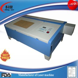 Wholesale KL W x200mm CO2 Laser Engraving Cutting Machine Engraver V v USB Cutter for wedding card