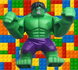 2014 Hulk Figures Hulk block Superheroes mini figures The Avengers figures Children building blocks