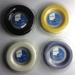 Luxilon tennis string Alu power rough 125 best price polyester luxilon tennis gut 200m reel big banger tennis strings silver 16L 1.25mm
