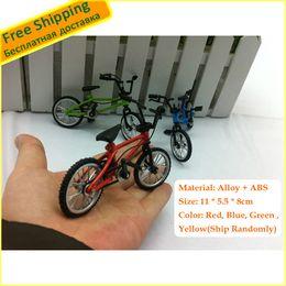 Wholesale Alloy Creative Material Finger Bike Toys New Multi color Finger Mountain Bike Novelty Toys Best Price