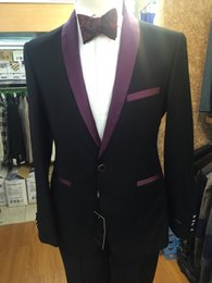 Wholesale-Free shipping 2016 wedding man suits business or party style