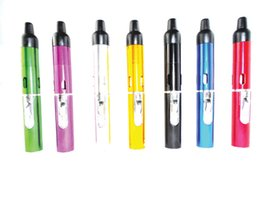 Wholesale sneak a vape Click N Vape Mini Herbal Vaporizer smoking pipe Trouch Flame Lighter With Built in Wind Proof Torch Lighters