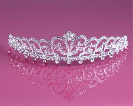 rhinestone tiara Wedding Hair fascinators hats Jewelry rhinestone tiara earring Cheap Wholesale Girls Evening Prom Accessories HT13