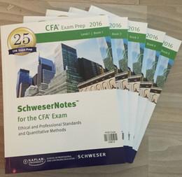 Wholesale 2016 CFA level Study notes Practice Exams Volume Volume MOCK exam