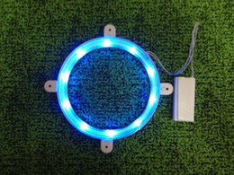 Wholesale Freeship six colors Cornhole LED light ring set for bean bag toss game cornhole light easy install high quality