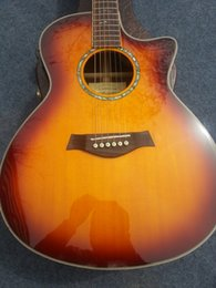 Wholesale China Guitar factory new arrival TY ce acoustic electricFISHMAN EQ