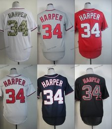 Wholesale Washington Nationals Bryce Harper Baseball Jersey Cheap Rugby Jerseys Authentic Stitched Size