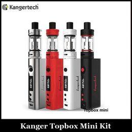 Compra Online Evic vtc-Clone Kanger Topbox Mini 75w Juego de arranque con caja 75w Mod Top llenado MINI 4ml atomizador VS Joyetech Evic VTC Mini 75w Kit