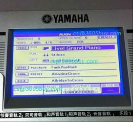 Wholesale New original Yamaha PSR S500 S550 S650 mm6 LCD screen