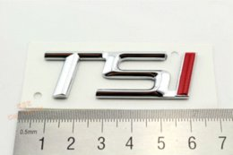 VW OEM TSI Rear Emblem Inscription Badge Sticker For SKODA, ABS stickers electric sticker labels for printing