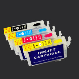 Wholesale T1281 T1282 T1283 T1284 Color Empty with ARC chip printer Refillable ink cartridge For Epson Stylus S22 SX125 SX420W SX425W BX30