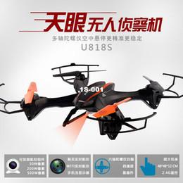 2016 drones de caméras aériennes Vous Di U818S grand nouveau modèle quatre-axe avion télécommande HD caméra drone aérien appareils peu coûteux drones de caméras aériennes