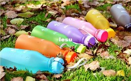 Wholesale Fashion Hot Unbreakable Sport Travel Water Bottle Portable Leak proof Cycling Camping Cup