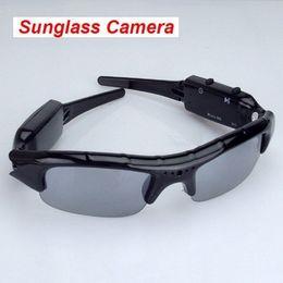 Sunglasses Camera Portable Eyewear DVR mini camcorder Sunglasses camera Mini Audio Video Recorder in retail box dropship