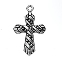 Free shipping New Fashion Easy to diy 10pcs cross religious jesus charm jewelry making fit for necklace or bracelet