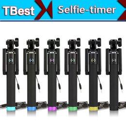 Wholesale Wireless Selfie Stick Bluetooth Monopod for Iphone Plus s universal MINI folding Self pole Palo Selfie For SAMSUNG Android IOS