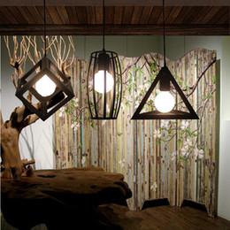 1 pcs Cafe Bar black industrial Light kitchen antique Wrought Iron pendant light dining Room Fashion shop Lamps RH loft retro bar lamp